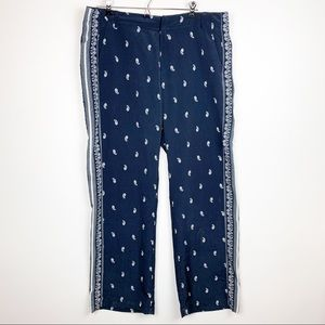 Tommy Hilfiger Pants - TOMMY HILFIGER LOOSE FIT BANDANA PRINT FLOWY PANTS